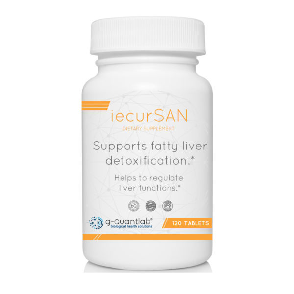 iecursan dietary supplement that supports fatty liver detox.