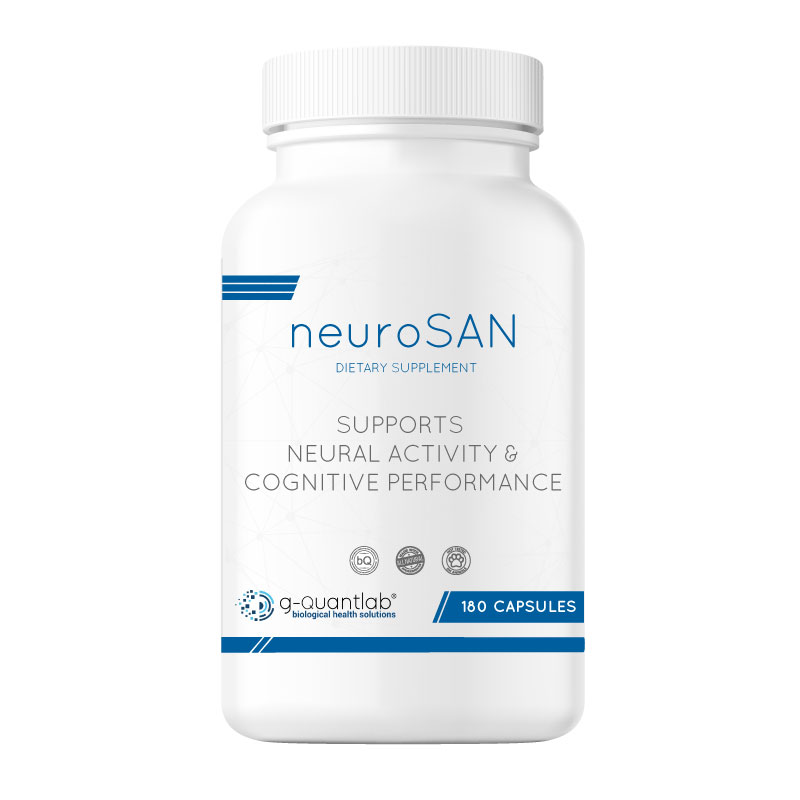 neurosan dietary supplement that supports neural activity and cognitive performance.